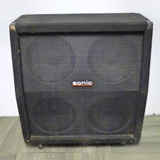used sonic 4x12 w celestion g12s 50 guitar speaker cabinet 4 x 12