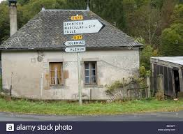 traditional french country house in cantal the auvergne