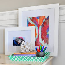 interior design diy turning canvas art into framed art for your