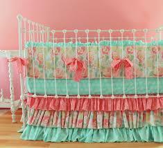 Mint Green Crib Bedding Splendiferous Crib Bedding Baby Nursery Il