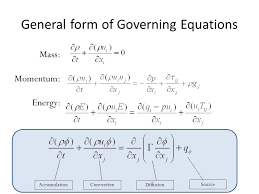 general form of governing equations