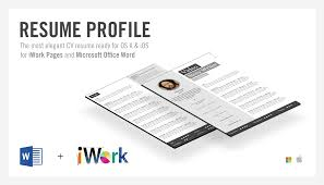 Resume Builder Printable Free Resume Template Apple Resume Cv Cover Letter
