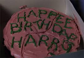 harry potter cookbook project harry u0027s birthday cake