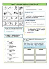 Countable And Uncountable Nouns Practice Pdf Food Countable And Uncountable Nouns Pdf Drive