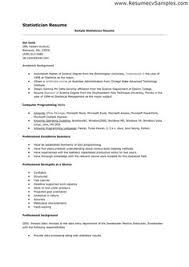 Statistician Resume Sample by Construction Controller Resume Examples Http Www Resumecareer