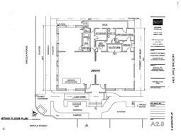 car service center floor plan calistoga library existing floor plan napavalleyregister com