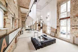 Industrial Lofts Industrial Vibe In A Temporary Showroom A Space In Berlin U2013 The