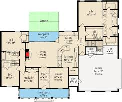 Floor Plans With Bonus Room Stately Home Plan With Bonus Room 84056jh Architectural