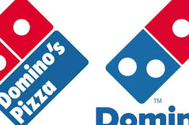 domino s domino s removes pizza from its new logo eater