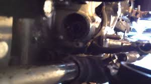 how to install a starter motor on a gl1200 goldwing youtube