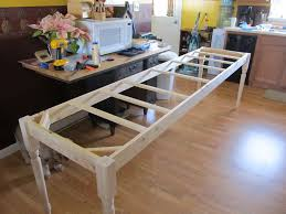 ana white whitney u0027s turned leg farmhouse table diy projects
