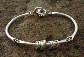 bracelet silver bangles images Women 39 s unusual silver bangle love2have in the uk jpg