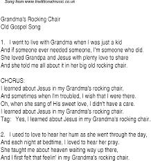 Modern Rocking Chair Png Grandma U0027s Rocking Chair Christian Gospel Song Lyrics And Chords
