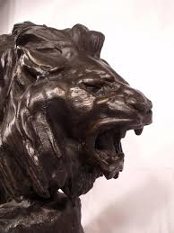 antique bronze lion c1910 antique bronze lion sculpture by f cartier