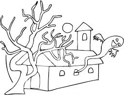 creepy coloring pages kids coloring