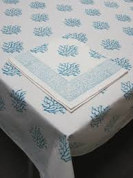 block printed tablecloth hildreth s home goods
