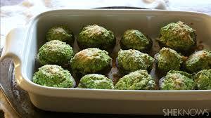 cauliflower kale stuffed mushrooms are a healthy thanksgiving