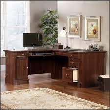 Sauder L Shaped Desks by Sauder Select L Shaped Desk In Shaker Cherry Desk Home Design