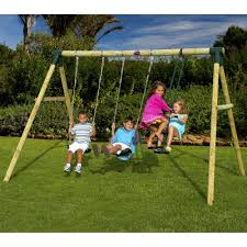 Sylvanian Families Garden Playground Plum Colobus Wooden Garden Swing Set Toys R Us