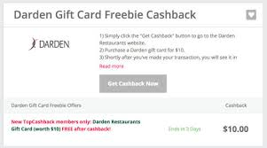 darden restaurants gift cards hurry free 10 gift card to darden restaurants lobster