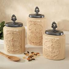Fioritura Ceramic Kitchen Canister Set | fioritura ceramic kitchen canister set