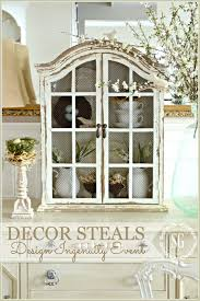 Decorating A Hutch Decor Steals Design Ingenuity Event Spring Cupboard Stonegable