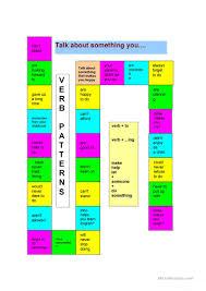 verb pattern of like 25 free esl verb patterns worksheets