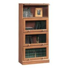 Sauder 4 Shelf Bookcase Sauder Barrister Bookcase 4 Glass Door Home Furniture Home