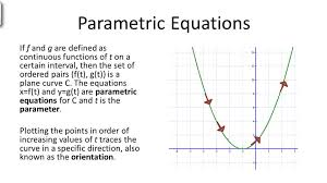 parametric equations and calculus video calculus ck 12