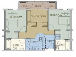 floor plans of flats at the oval in fort collins co