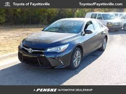used 2015 toyota camry for 2015 used toyota camry 4dr sedan i4 automatic se at toyota of
