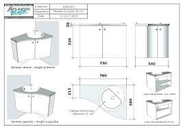 hauteur d une cuisine hauteur standard meuble cuisine hauteur d cuisine cool taille