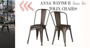 Tolix Bistro Chair Tolix Bistro Chair With French Bistro Style Table U0026 Tolix Like