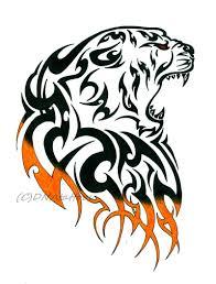 tiger tribal by weedenstein on deviantart tribal tattoos