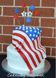 Flag Cakes My Creative Way America Flag Fondant Cake