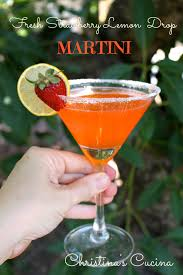 martini martinis fresh strawberry lemon drop martini christina u0027s cucina