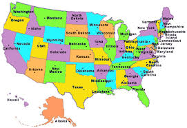 map us states regions us state map test 50 states map sitw 50 states regions