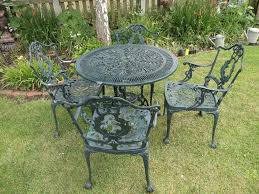 Cast Aluminium Garden Table And Chairs Cast Aluminium Garden Set Table And 4 Chairs In Chelmsford