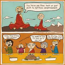 thanksgiving humor and comic about being with family