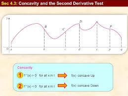 1 f u0027 u0027 x u003e 0 for all x in i f x concave up concavity test sec