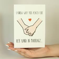 Marriage Greeting Cards Her Hand In Marriage Memorytag Greeting Cards