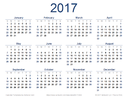 print calendars for 2017 2017 calendar templates and images