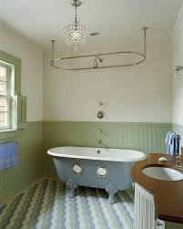 Bathroom Shower Curtain Rod Great Ceiling Mount Shower Curtain Rod Bathroom Contemporary With