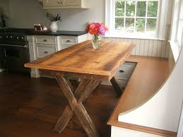 How To Build A Trestle Table Farmhouse Counter Height Table