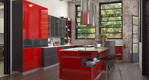 red cabinets in kitchen op16 l25 modern red industrial style kitchen cabinet