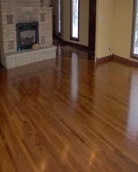 Cork Floor Kitchen by Decorating Chic Brown Bruce Hardwood Floors Installation Wood