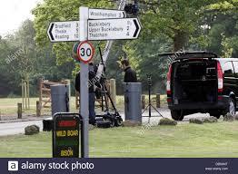 camera crews arrive residents in kate middleton u0027s home village of