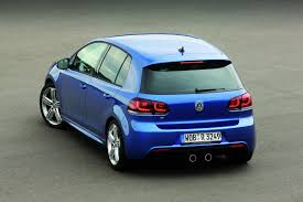 vw golf r fastest production golf ever with 270hp and four wheel