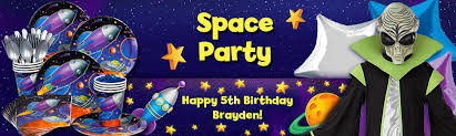 Outer Space Decorations Space Party Ideas U2013 Space Birthday Party Ideas At Birthday In A Box