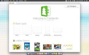 cardsmith make print greetings card on your mac